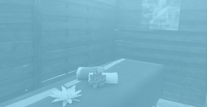 Institut table de massage extérieur